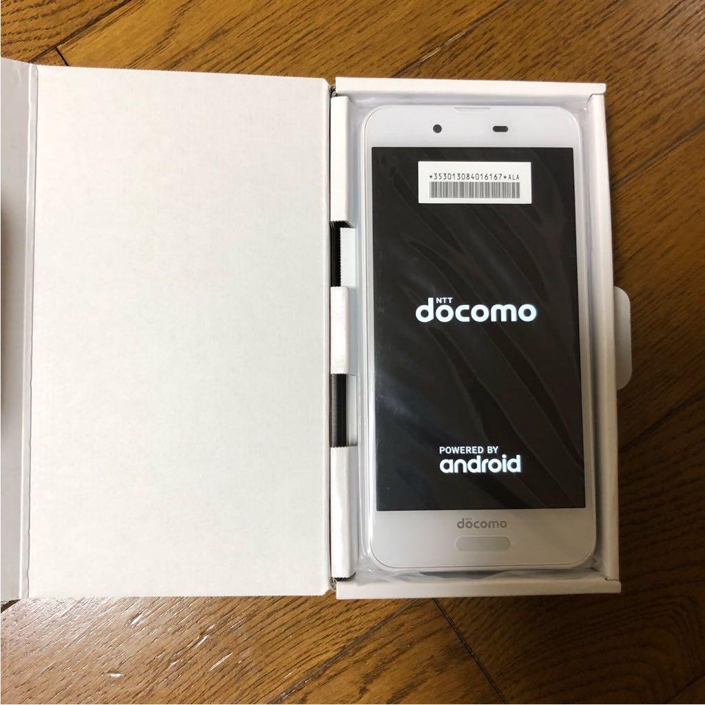 【新品】AQUOS SENSE docomo SH-01K シルキーホワイト ホワイト SIMロック解除可能 ドコモ android SIMフリー_画像6