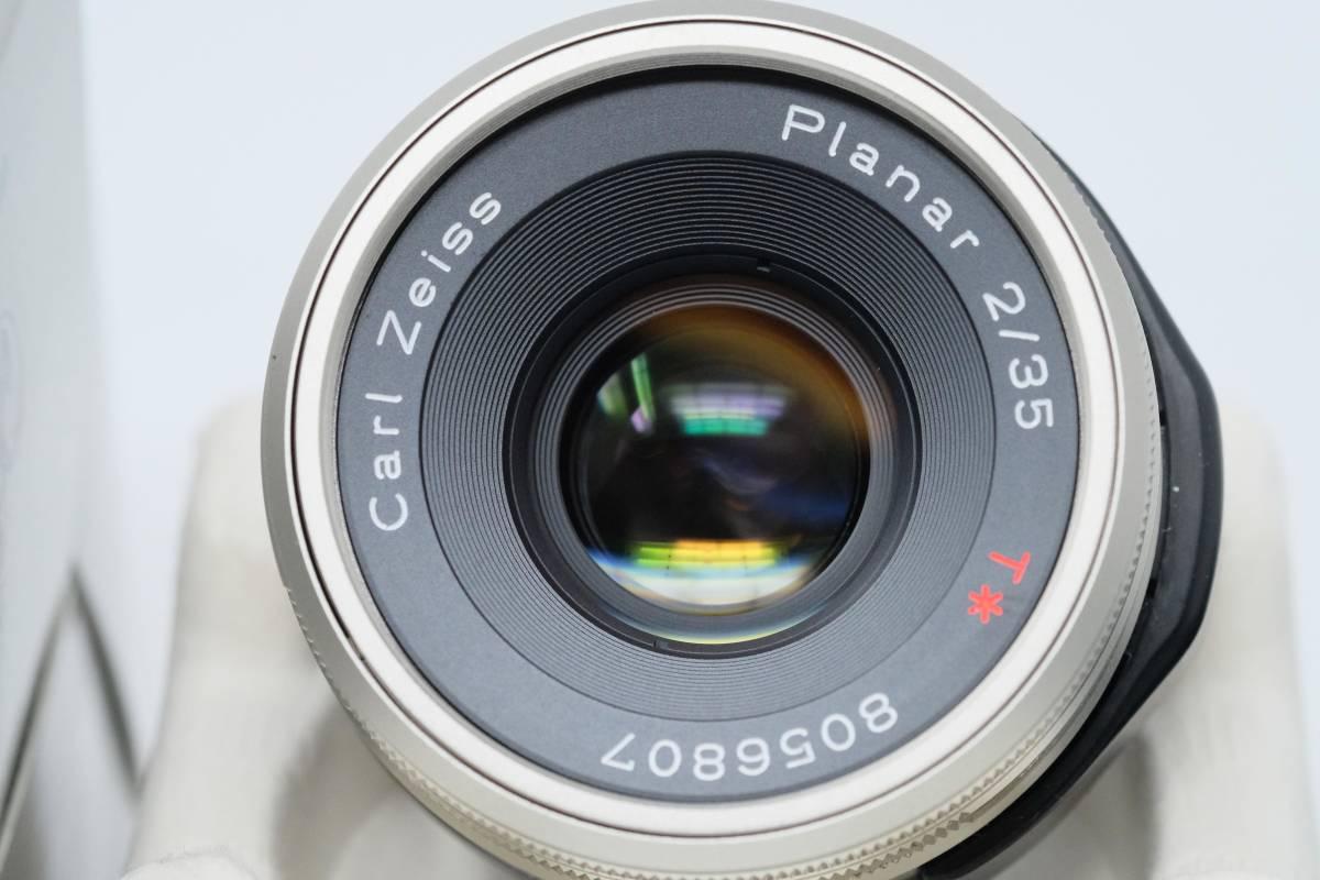 CONTAX Carl Zeiss Planar 35mm F2 コンタックス カールツァイス プラナー 美品 送料込み
