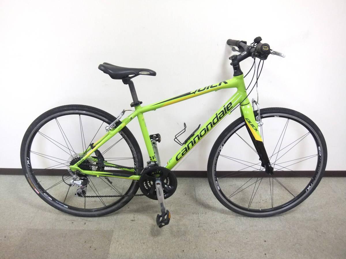 CANNONDALE キャノンデール QUICK 4 クロスバイク Mサイズ グリーン