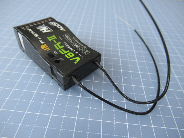 ★ 。FRSKY 2.4GHz V8FR受信機(8CH)ハイボルテージ対応 _画像5