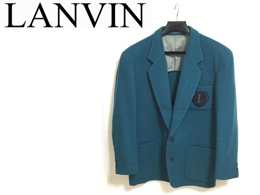 LANVIN STUDIO ジャケット メンズ50 ランバン オールド 古着ヴィンテージ *4