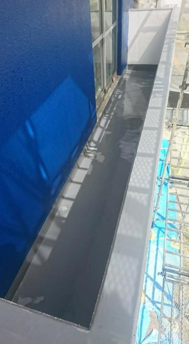 ベランダ・屋上などの防水工事承ります、FRP.ウレタン防水など、保証あり、長野県長野市から、1㎡あたりの金額となります。_画像2