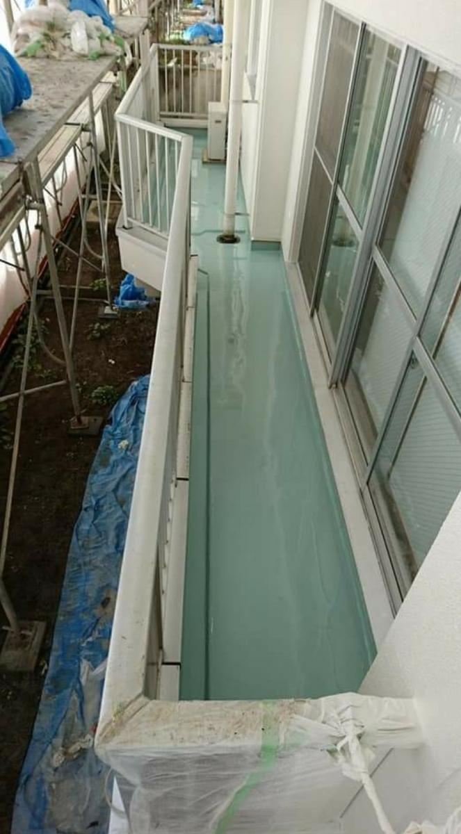 ベランダ・屋上などの防水工事承ります、FRP.ウレタン防水など、保証あり、長野県長野市から、1㎡あたりの金額となります。_画像6