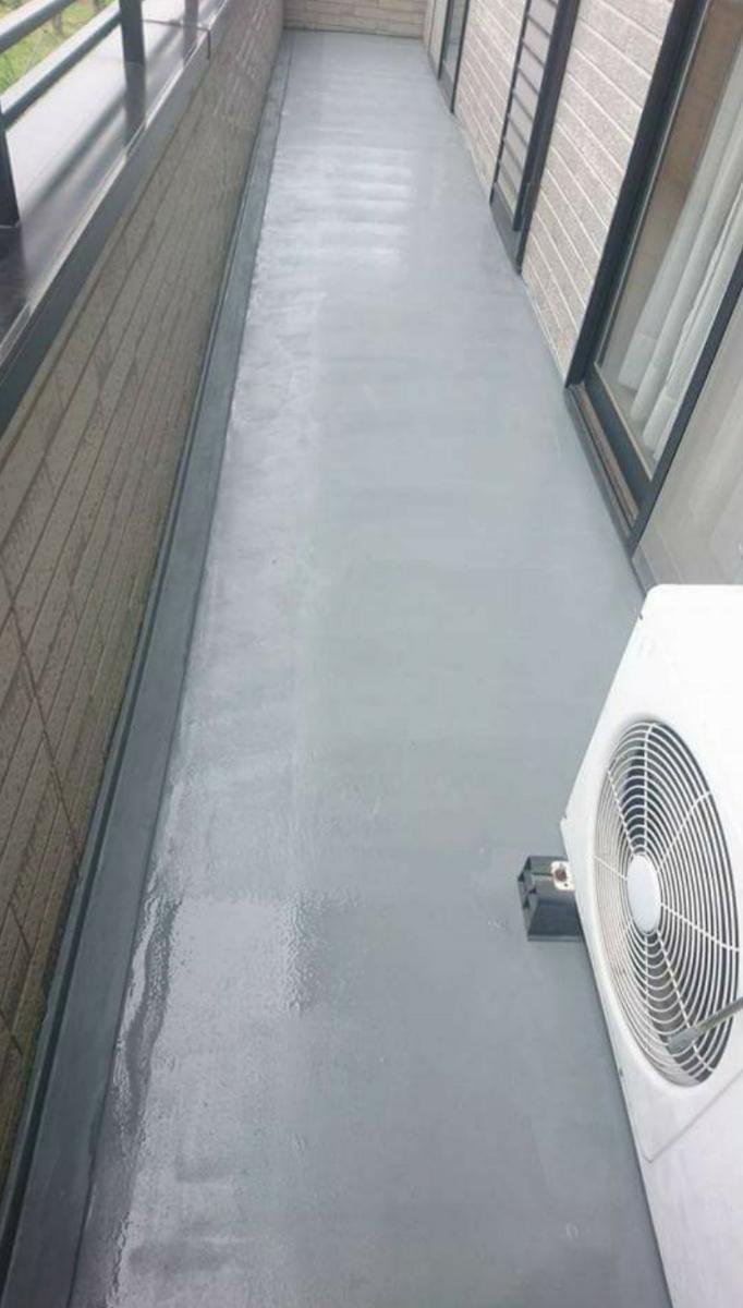 ベランダ・屋上などの防水工事承ります、FRP.ウレタン防水など、保証あり、長野県長野市から、1㎡あたりの金額となります。_画像1