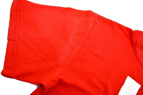 S4464★送料無料★WKO 世界組手連盟 2013年全日本ジュニア選手権★空手道 日本 大阪代表 両面プリント レッド赤色 半袖Tシャツ_画像4