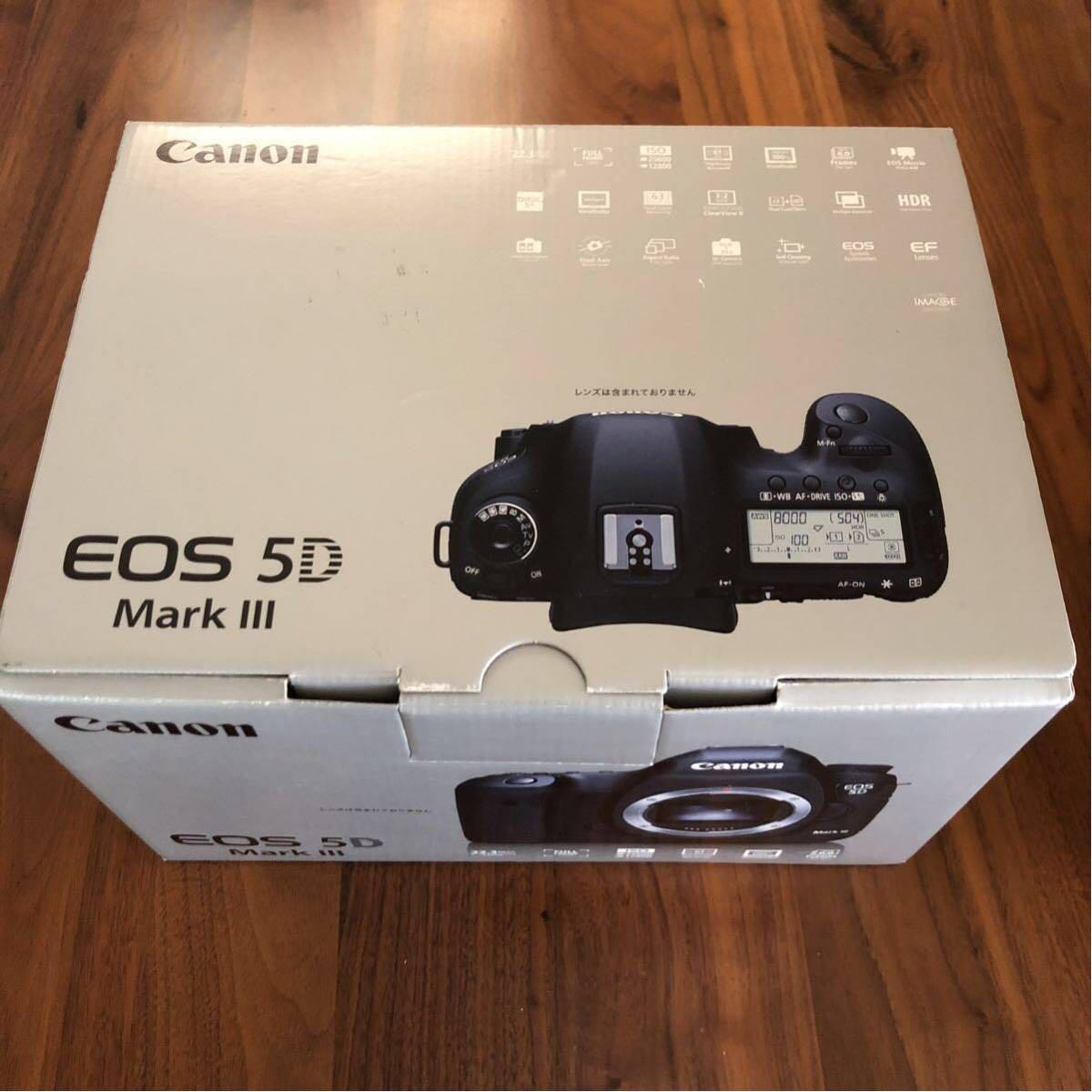 新品未使用 未開封 Canon デジタル一眼レフカメラ EOS 5D Mark III ボディ EOS5DMK3