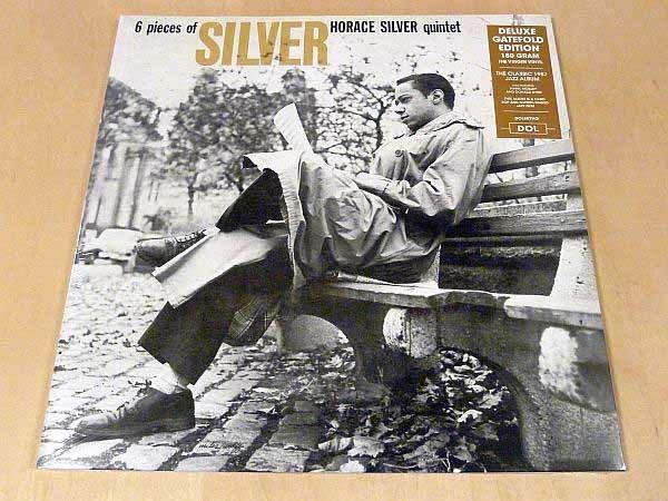 ホレス・シルヴァー6 Pieces Of Silver限定見開きジャケ仕様HQ180g重量盤未開封LP The Horace Silver Quintet Hank Mobley Donald Byrd_限定ゲートフォールドジャケ仕様180g重量盤