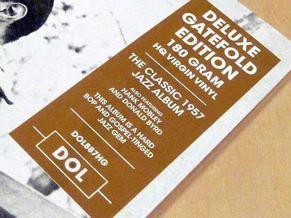 ホレス・シルヴァー6 Pieces Of Silver限定見開きジャケ仕様HQ180g重量盤未開封LP The Horace Silver Quintet Hank Mobley Donald Byrd_画像3