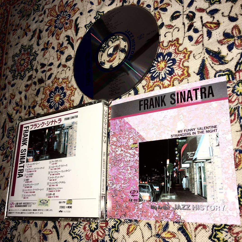 フランク・シナトラ/FRANK SINATRA/枯葉/パリの四月/夜のストレンジャー/世界一周/ナイト・アンド・デイ/ハロー・ヤング・ラヴァーズ_画像1