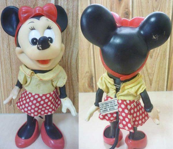 70s DAKIN ミニーマウス フィギュア ビンテージ ディズニー ミッキー プルート グーフィ
