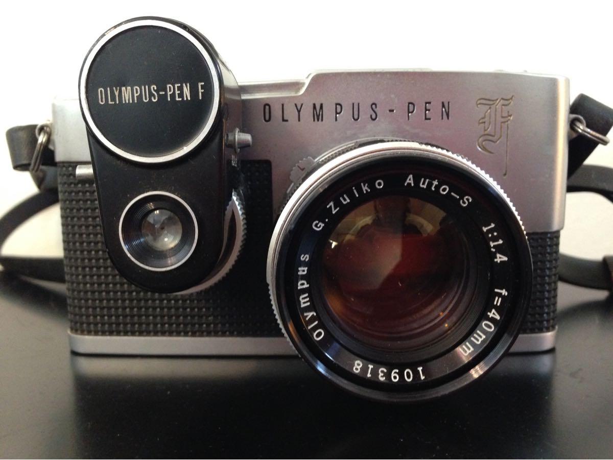 OLYMPUS PEN F G.Zuiko 1:1.4 f=40mm