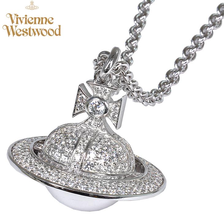 平成最後の1円~! Vivienne Westwood/ヴィヴィアン ウエストウッド ダリウスLオーブ BP622453/1 ネックレス