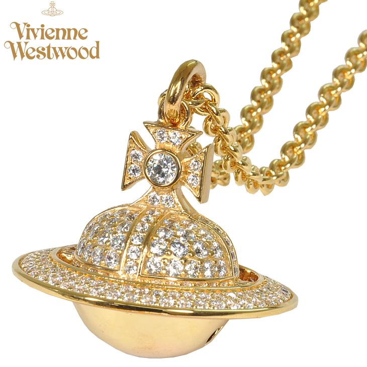 平成最後の1円~! Vivienne Westwood/ヴィヴィアン ウエストウッド ダリウスLオーブ BP622453/2 ネックレス