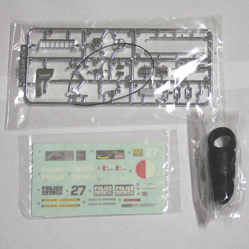 フジミ 1/24 ブレードランナー Blade Runner ポリスカー No.27 未組立_画像5