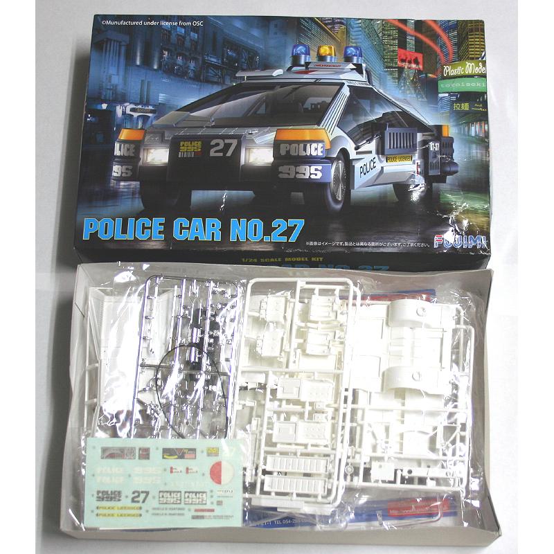 フジミ 1/24 ブレードランナー Blade Runner ポリスカー No.27 未組立_画像1