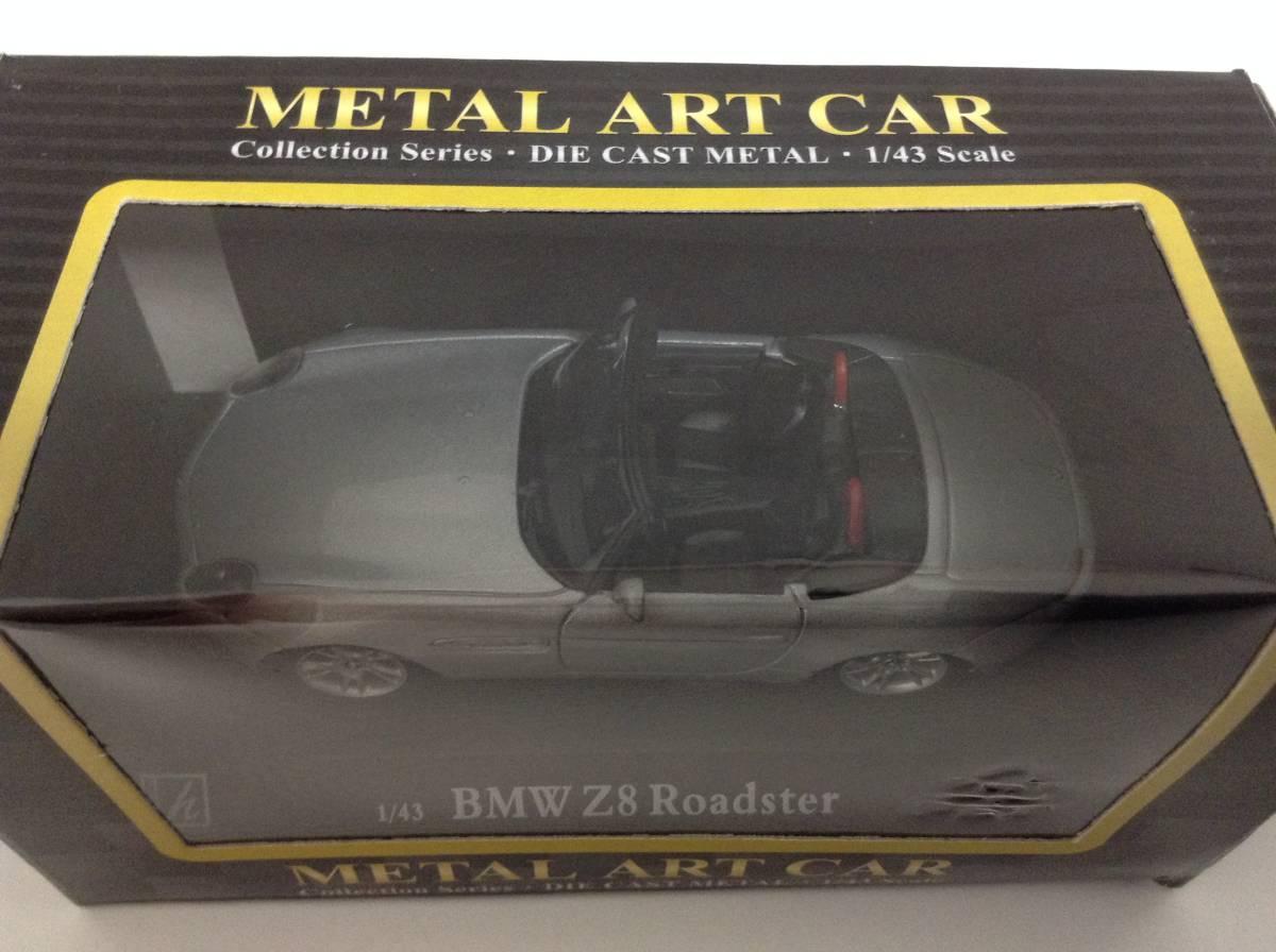 BMW Z8 ロードスター E52 2000年~2003年 1/43 約10cm ミニカー ホンウェル 007 ボンドカー 送料¥350 新品同様品_画像3