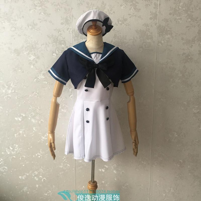 艦隊これくしょん -艦これ- コスプレ J級駆逐艦 ジャーヴィス Jervis コスプレ 衣装全セット_画像2