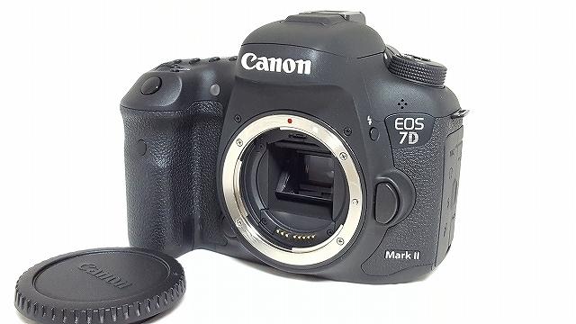 ★極上美品!★Canon EOS 7D Mark Ⅱ(2) MK2 マーク2 ボディ キヤノン 一眼レフボディ ★4929