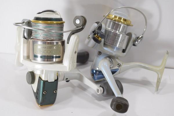 ダイワ シマノ リョービ リール スピニング タイコリール 片軸 両軸 17個セット まとめて 釣具 DAI-99_画像2