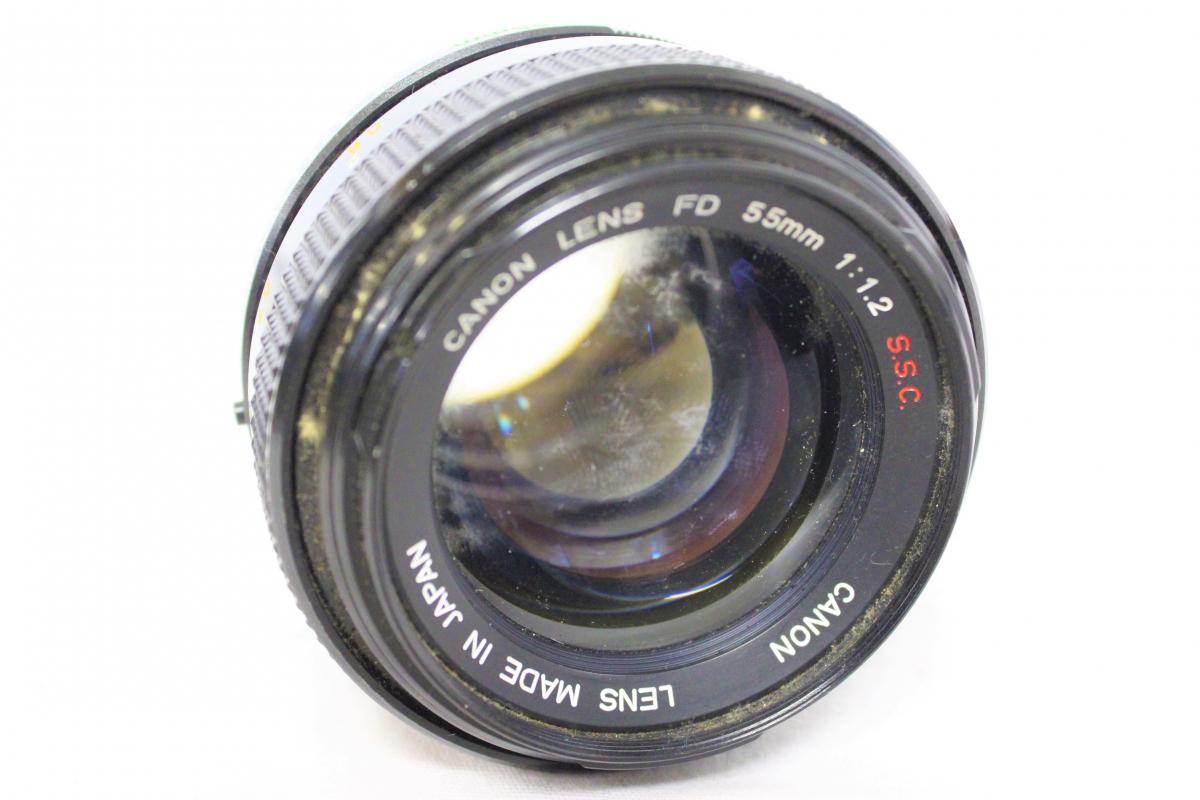 10HAP CANON キャノン AE-1 A-1 FD 28mm 1:2.8 80-200mm 1:4 SL-39 50mm 1:1.8 55mm 1:1.2 S.S.C. NIKKOR-Q・C 一眼レフカメラまとめ_画像3