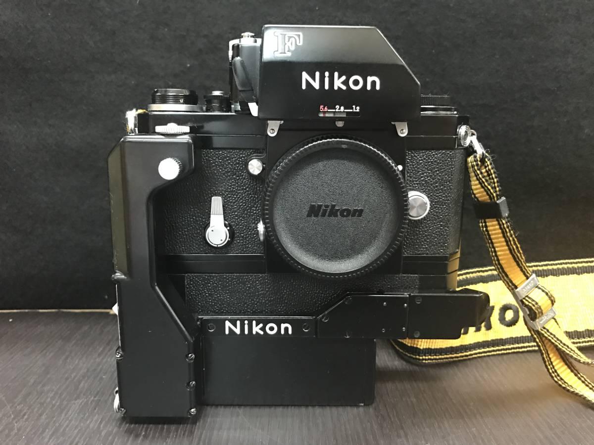 NIKON ニコン F SHUTTER SPEED RANGE ボディ_画像2