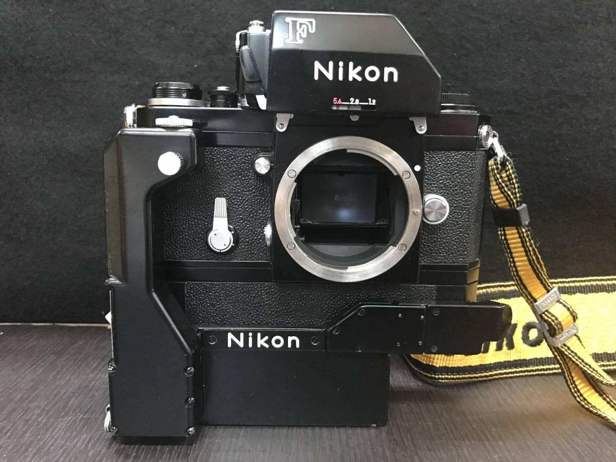 NIKON ニコン F SHUTTER SPEED RANGE ボディ_画像3
