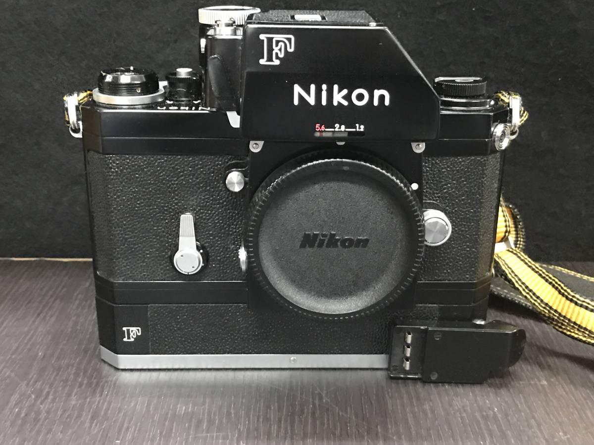 NIKON ニコン F SHUTTER SPEED RANGE ボディ_画像9