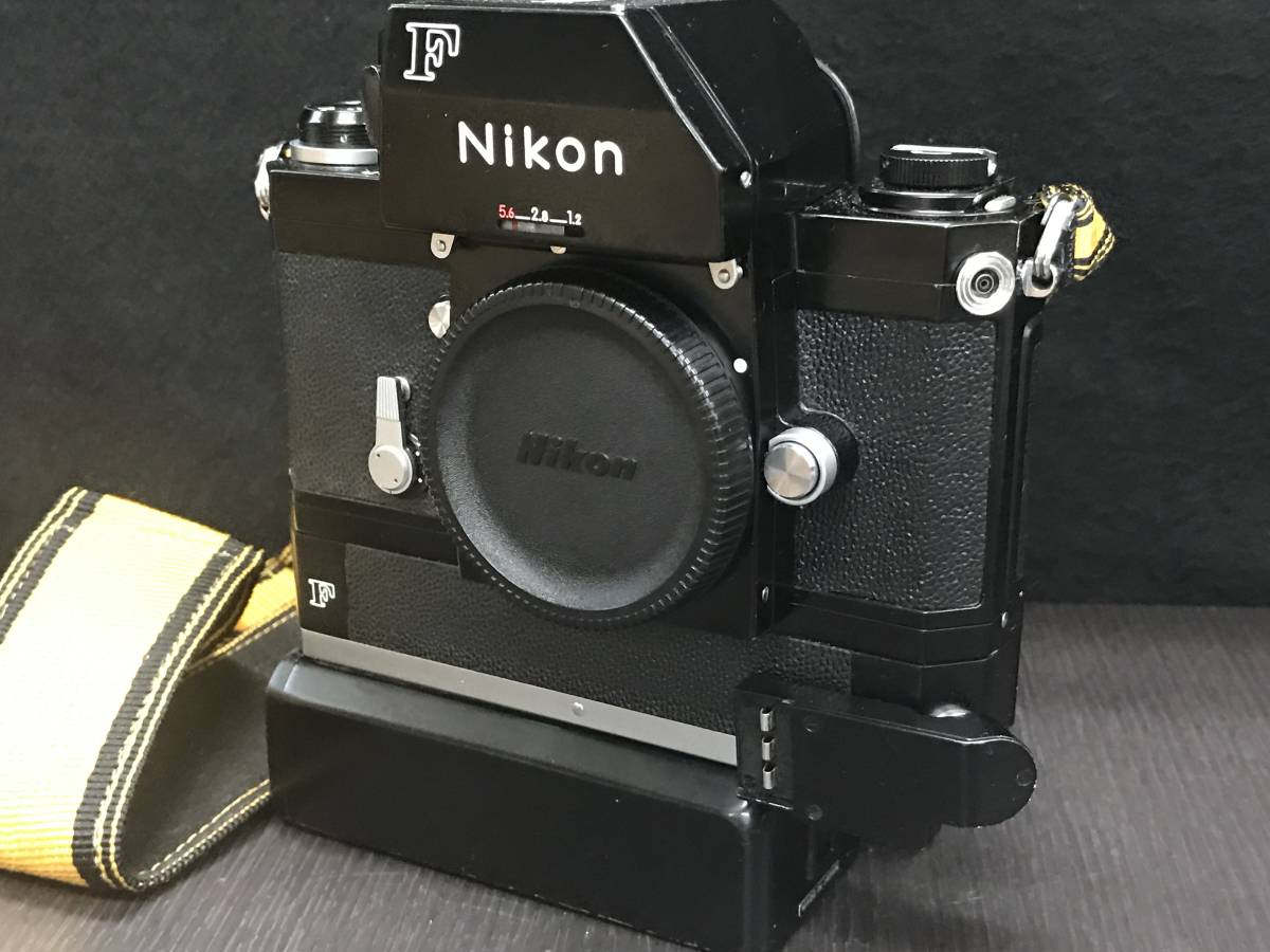 NIKON ニコン F SHUTTER SPEED RANGE ボディ_画像10