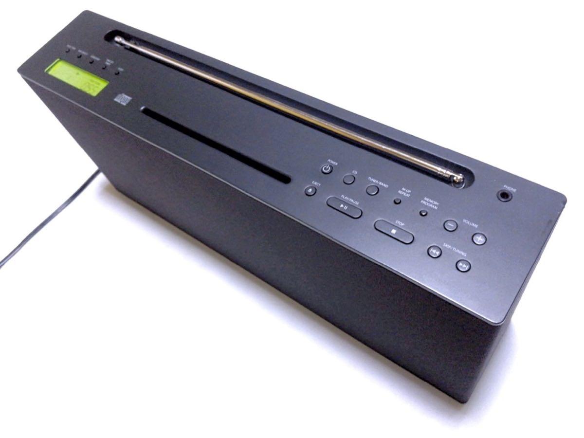 無印良品 CDプレーヤー/ラジオ PRD-2 動作品 即決_画像3