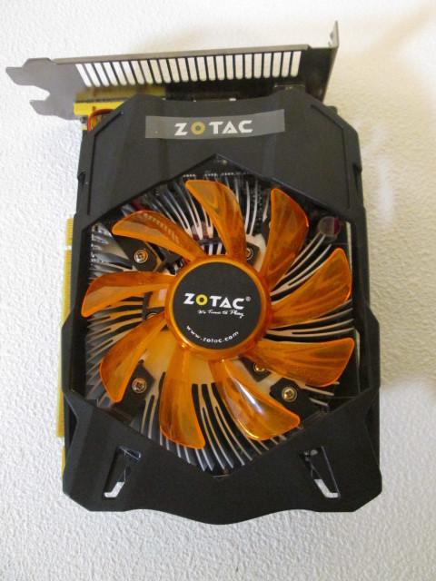 ●●送料込み●●使用品  ZOTAC GeForce GTX 750 Ti 2GB 程度良好 完動品