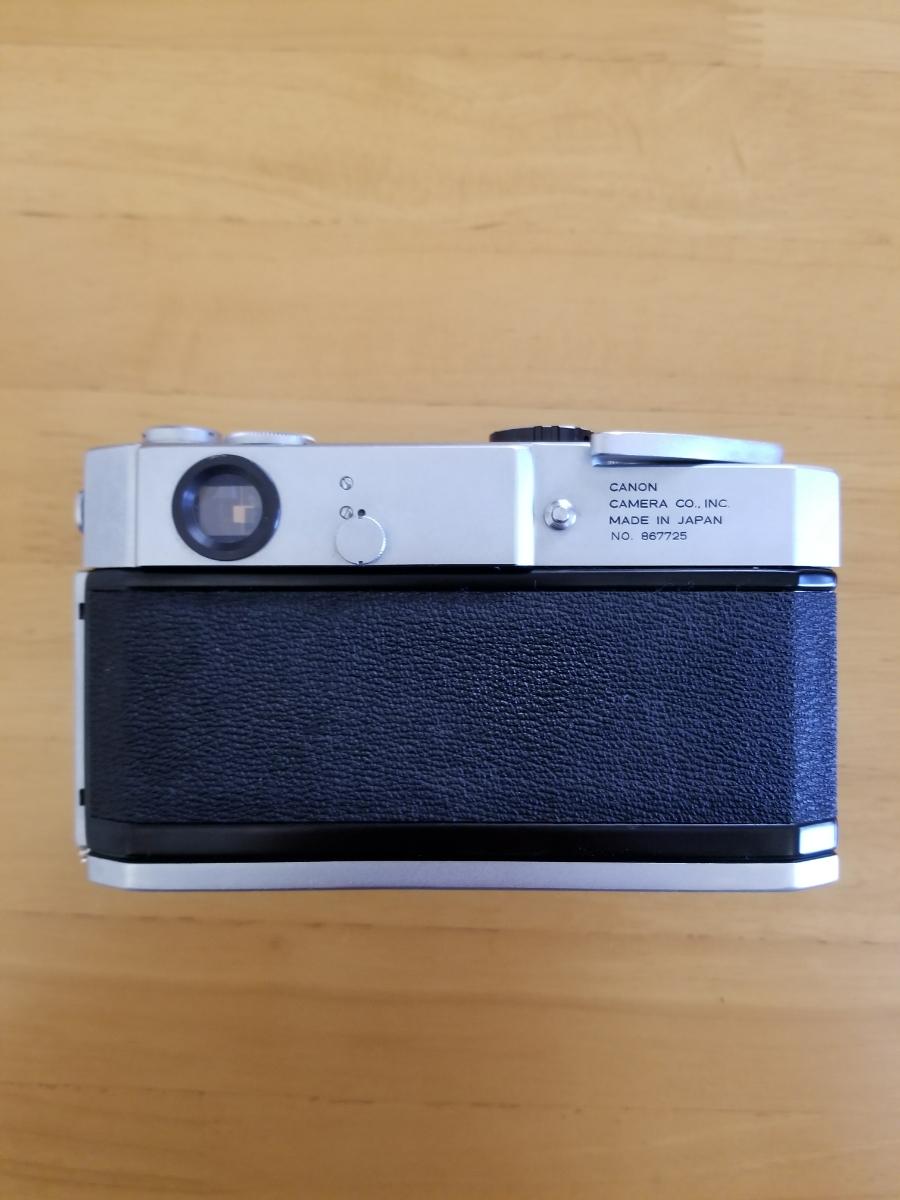 キャノンレンズ交換式カメラ、シャッター作動、ジャンク扱い_画像4