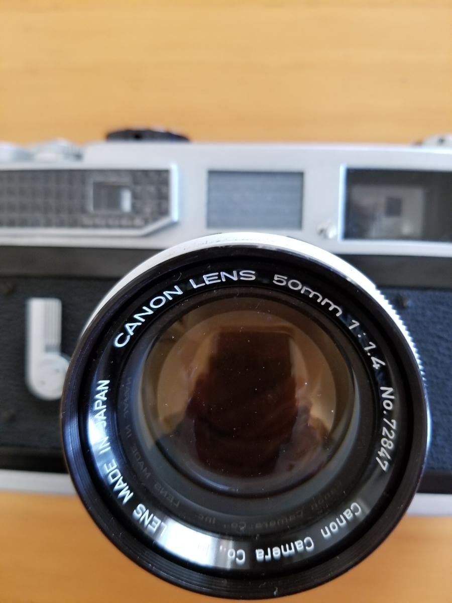 キャノンレンズ交換式カメラ、シャッター作動、ジャンク扱い_画像2