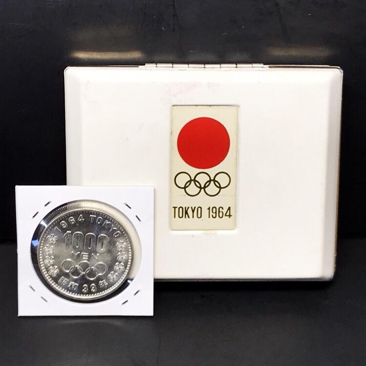 ☆1964年 東京オリンピック 記念銀貨セット☆総重量44.71g/総額面2100円/tokyo1964/silver/記念硬貨