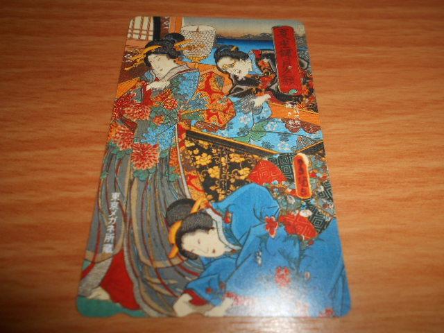 東京メガネ所蔵のテレホンカード使用済み残度数無し2枚_画像7