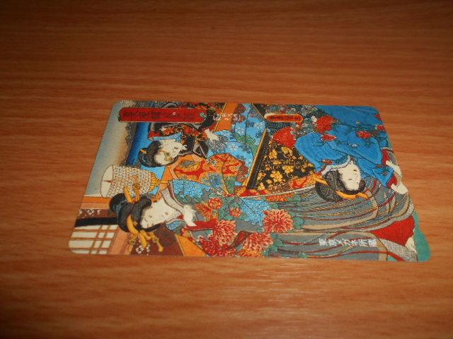 東京メガネ所蔵のテレホンカード使用済み残度数無し2枚_画像9