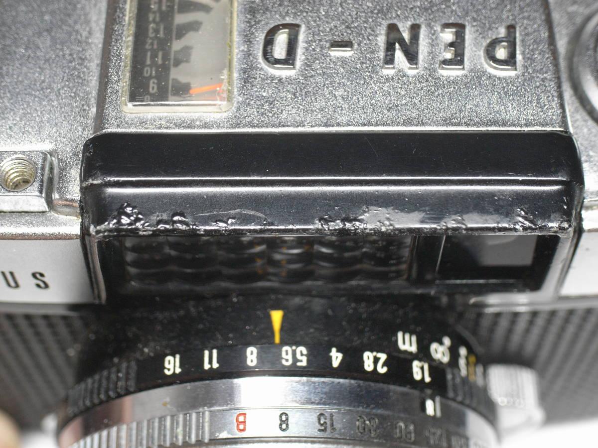 OLYMPUS PEN -D オリンパスペンD ハーフサイズ_画像4