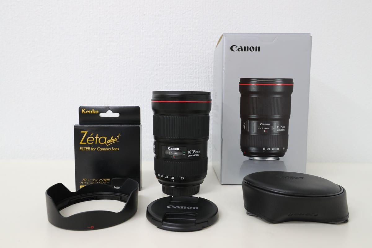 ほぼ新品 Canon EF16-35mm F2.8L III USM