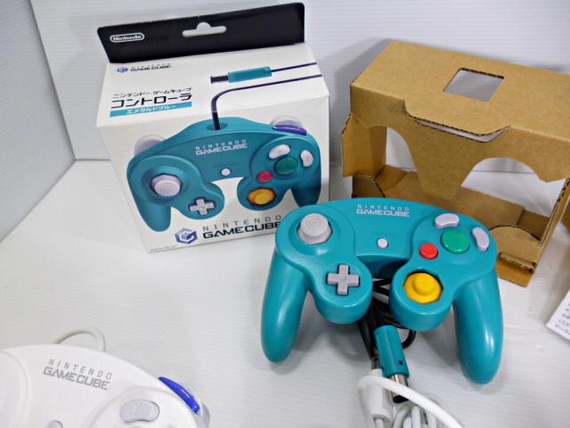 ★スマブラ有り 人気カラー多数 ゲームキューブ コントローラー (箱あり2個含む) 計10個セット_画像4