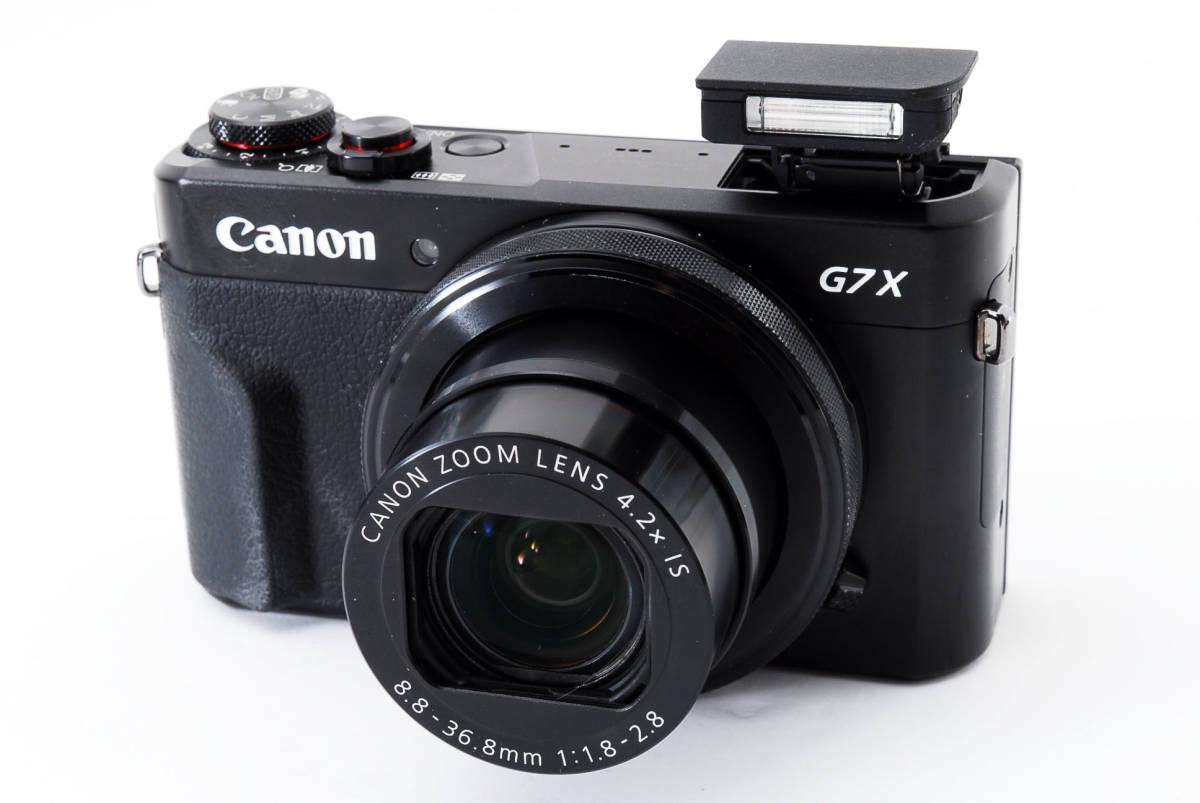 ★奇跡の新品同様★CANON キャノン PowerShot G7X Mark II ★元箱付属品★#7080_画像6