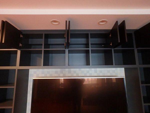 ABR63 その他 展示品 造作家具 TVボード テレビ台 システムラックセット TVは付属しません W5320 H2500_画像4