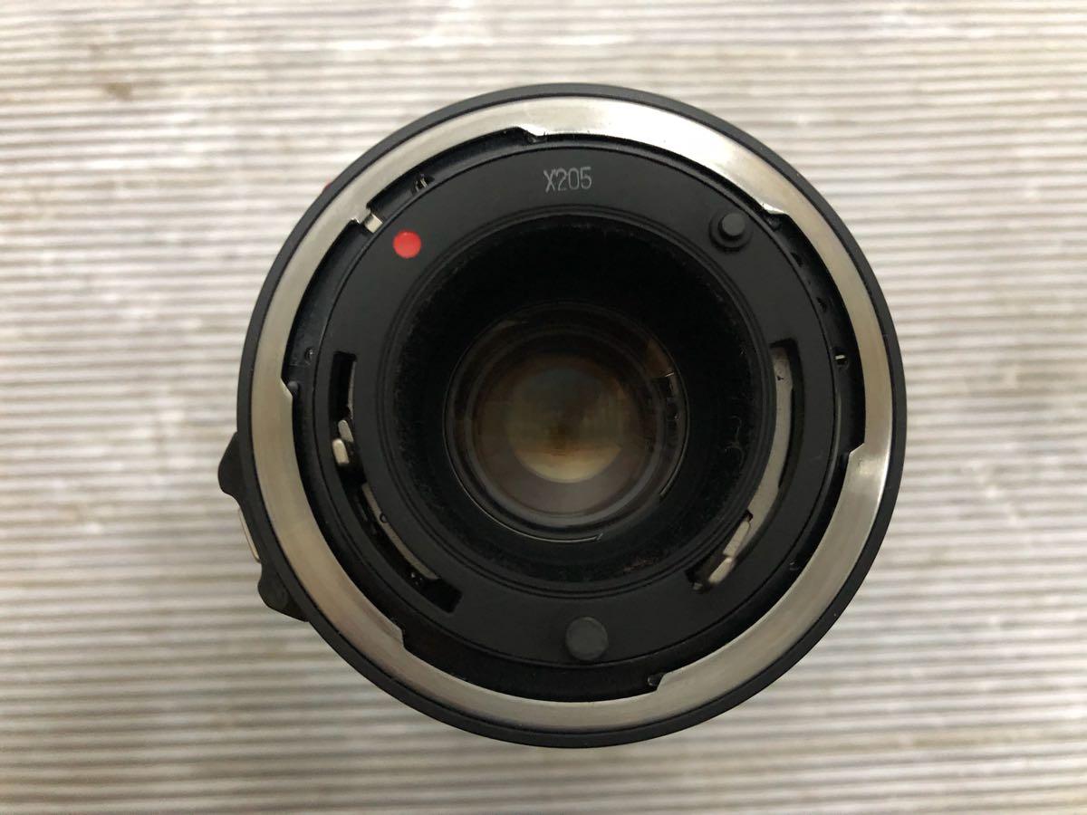411-6 キャノン CANON A-1 ブラックボディ 一眼レフ レンズ FD 35-105㎜ 1:3.5/FD50㎜ 1:1.2 レンズ2点セット】OK3278_画像7