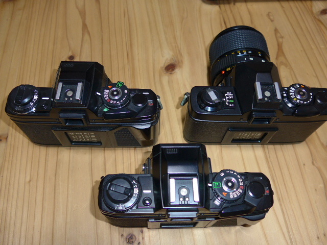 ミノルタX700が2台、XG-Sとレンズ1本のセットです。_画像8