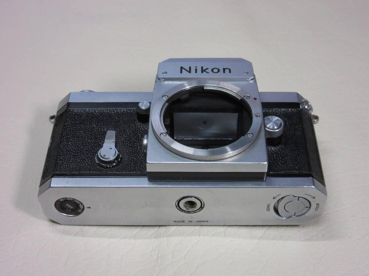 ニコンF アイレベルファインダー シルバー 最初期型 シリアル6420004_画像2
