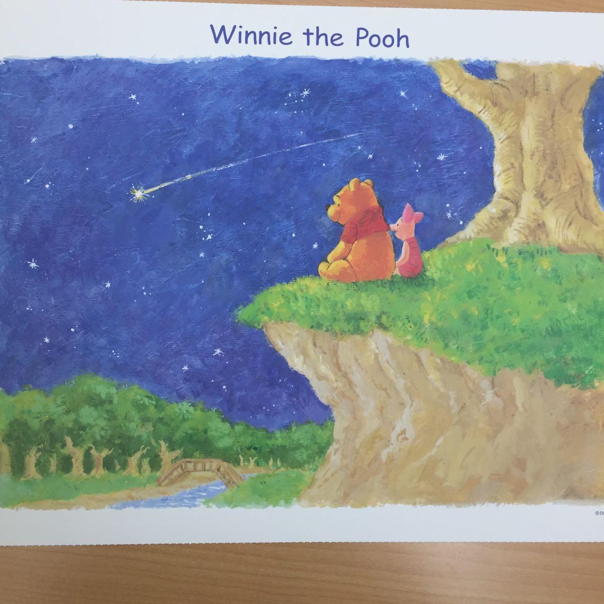 セール★ Winnie the Pooh くまのプーさん ポスター 2_画像2