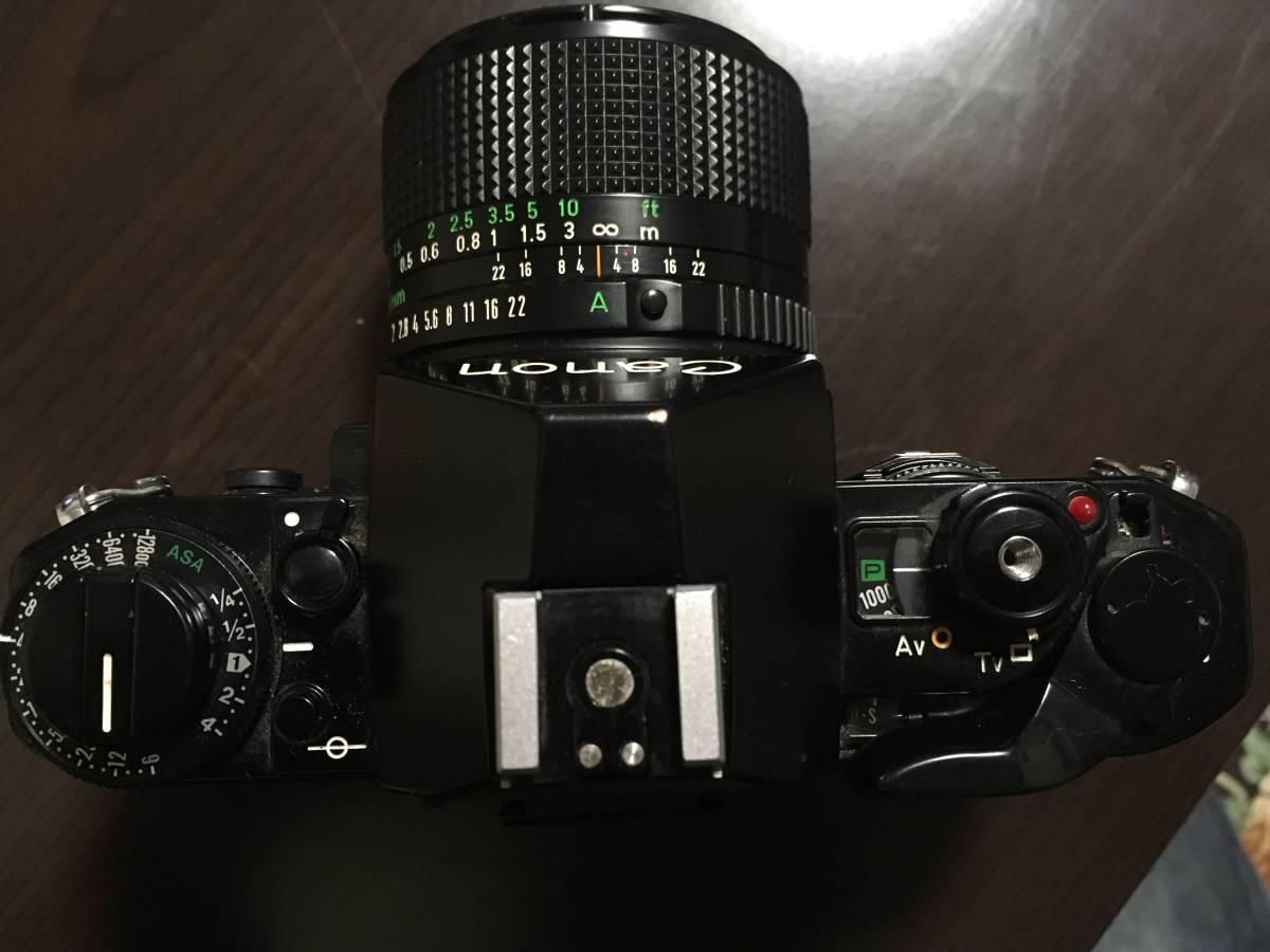 1円~☆CANON キャノン A-1 一眼レフカメラ レンズ FD 28mm 1:2_画像3