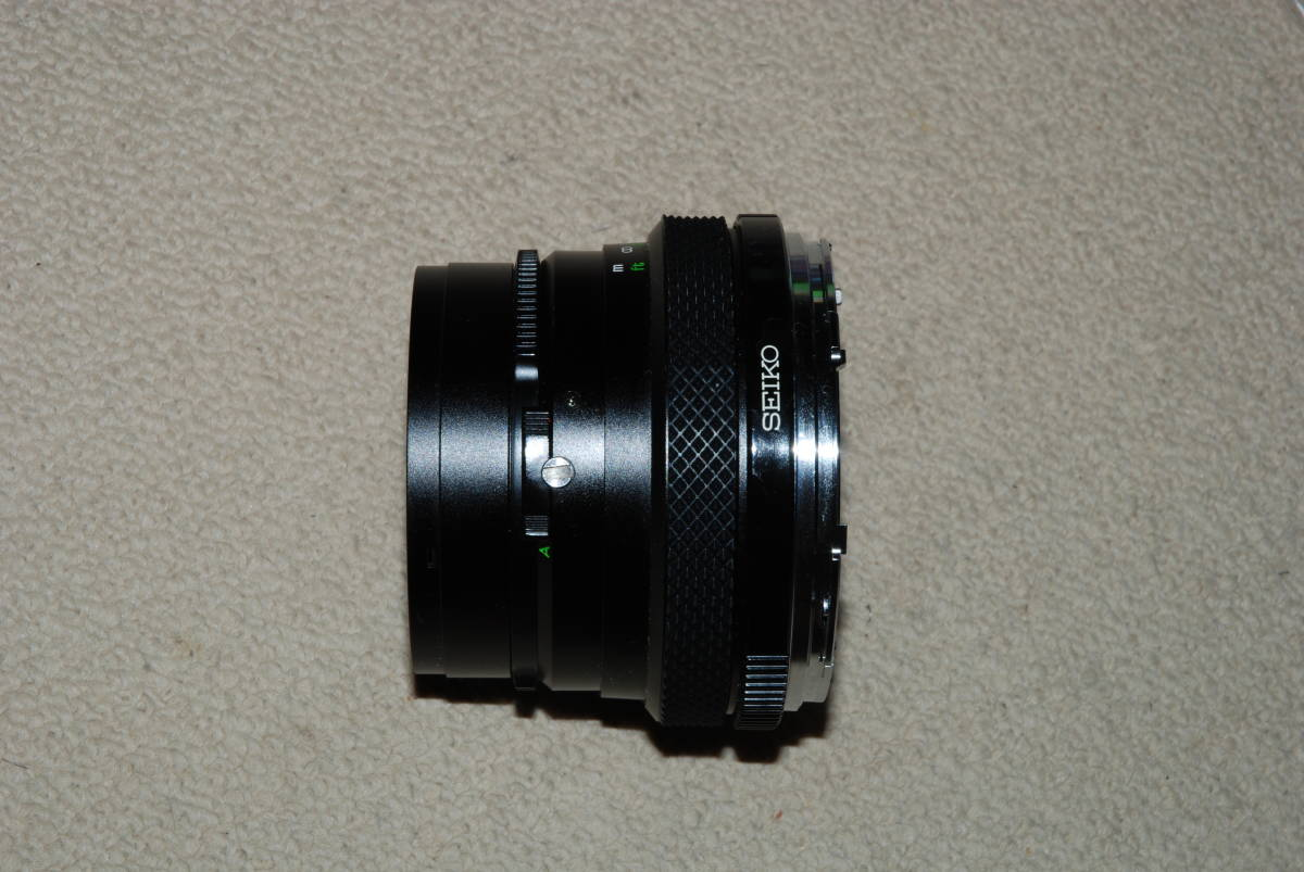ゼンザ ブロニカ ZENZA BRONICA MC ETRS 1:4 40mm レンズ ジャンク_画像4