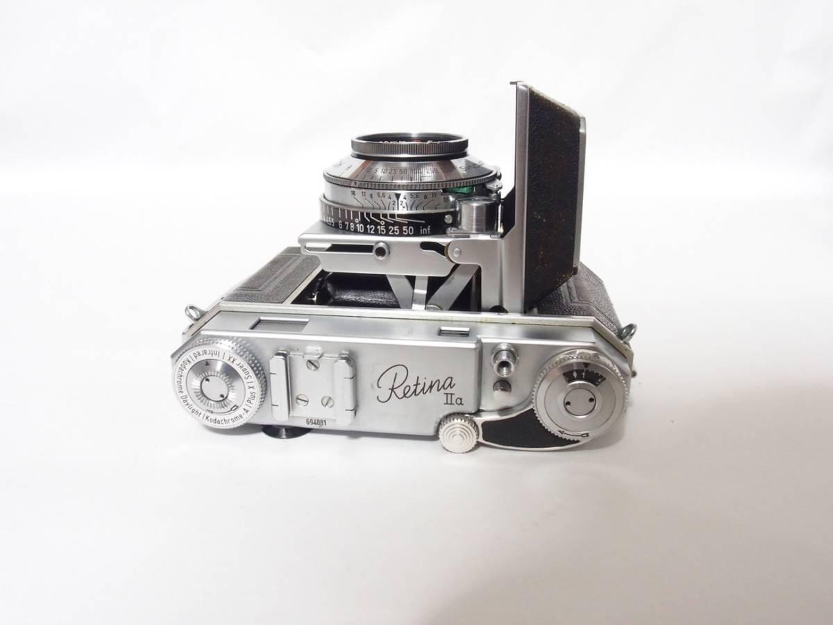 Kodak Retina Ⅱa 2a Xenon 50mm F2_画像5