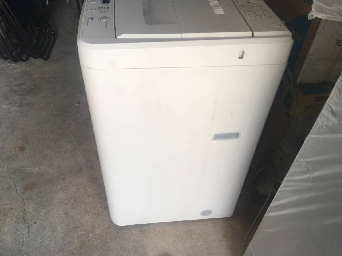 MUJI★ 無印良品 ★全自動洗濯機 ★4.5kg★ AQW-MJ45★12年製_画像6