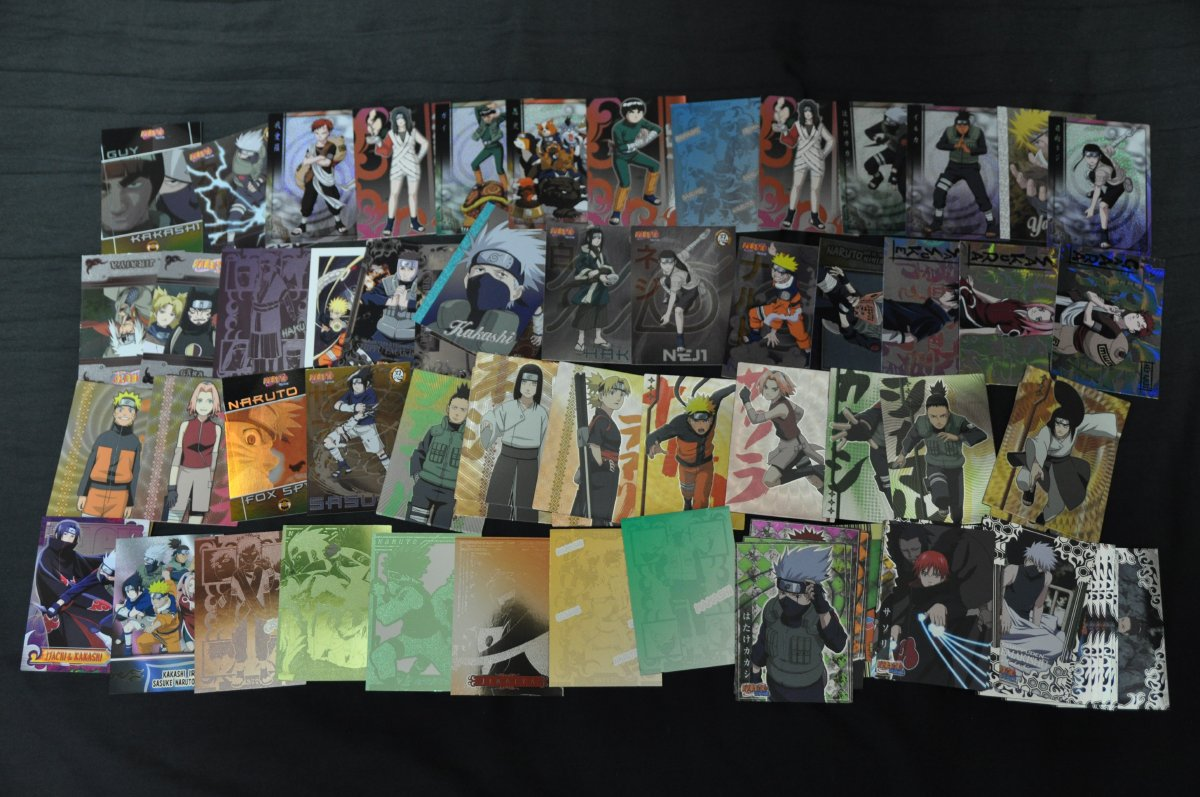 NARUTO -ナルト- トレーディングカード 約1200枚 大量_画像2