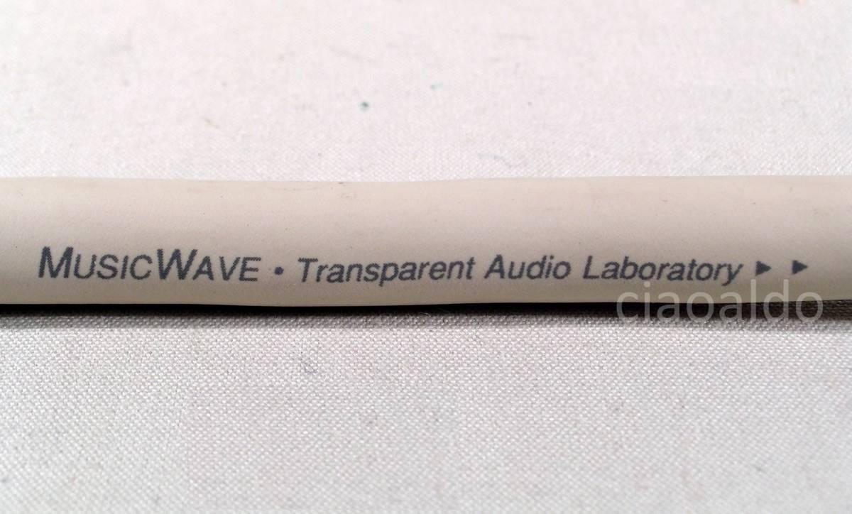 激安!!!新品・未使用品!!! トランスペアレント・スピーカーケーブル TRANSPARENT AUDIO MUSIC WAVE BI WIRE バイワイヤー接続用(約2.5m)_画像8
